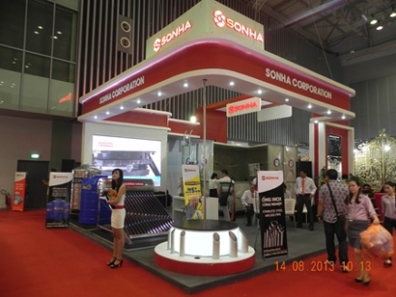 The 2015 Vietbuild International Exhibition