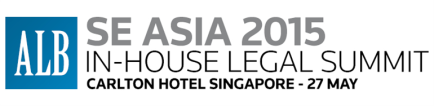 ALB SE Asia In-house Legal Summit 2015, 27 May, Singapore