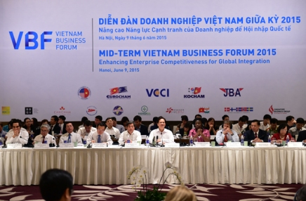 Midterm Vietnam Business Forum 2015