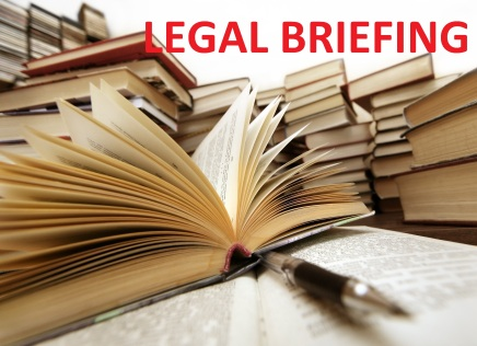 Legal briefing October, 2015