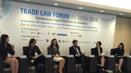 Partner Quyen Hoang attended Trade Law Forum – Incheon 2016